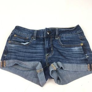 American eagle outfitters jean shorts SZ 2